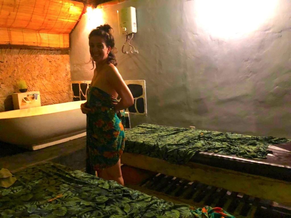 Masaje balinés